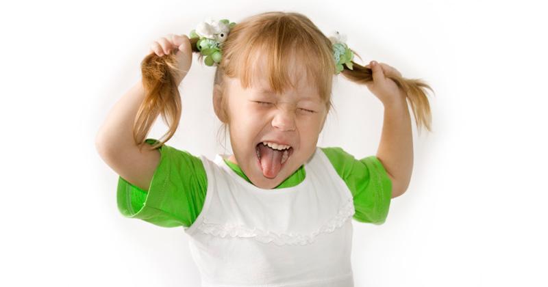 Детская истерика и ее причины, фото